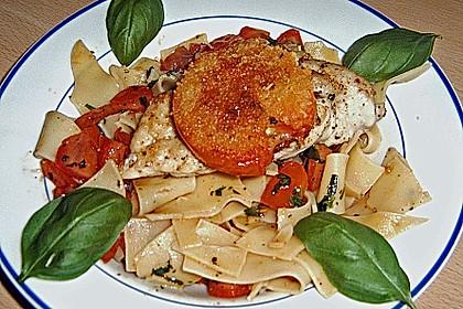 Überbackenes Hühnerbrustfilet mit karamellisierten Tomaten 2