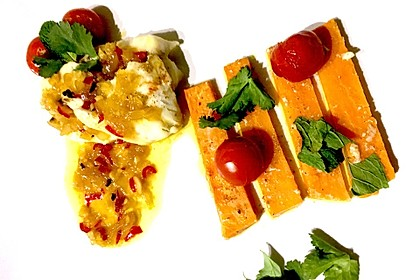 Rotbarsch mit Süßkartoffeln 11