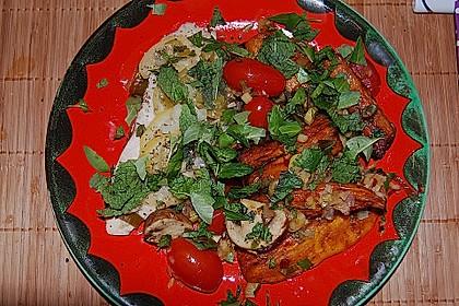 Rotbarsch mit Süßkartoffeln 15