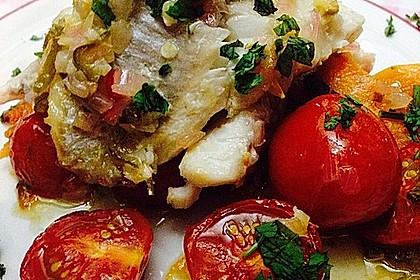 Rotbarsch mit Süßkartoffeln 5