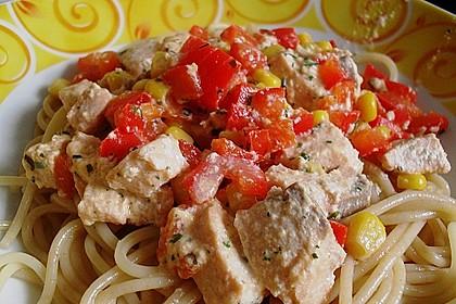 Lachs - Spaghetti 0