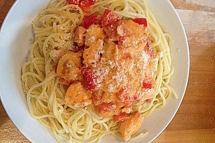 Lachs - Spaghetti 2