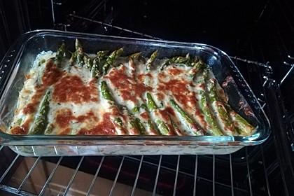 Albertos grüner Spargel mit Parmesancreme 34