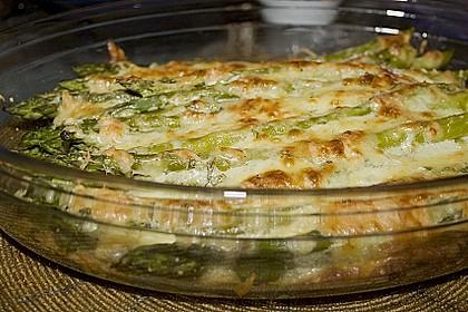 Albertos grüner Spargel mit Parmesancreme 18