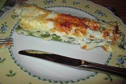 Albertos grüner Spargel mit Parmesancreme 60