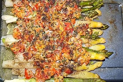 Albertos grüner Spargel mit Parmesancreme 40