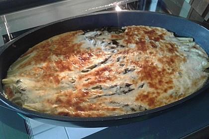 Albertos grüner Spargel mit Parmesancreme 55