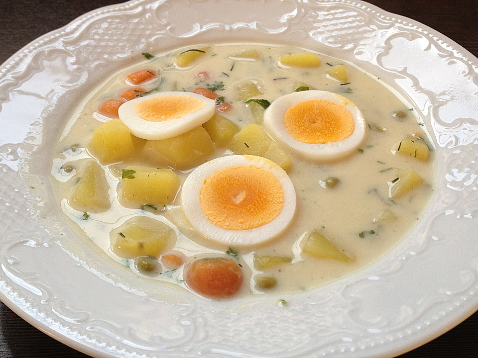 kartoffel eier suppe von sylv1802. Black Bedroom Furniture Sets. Home Design Ideas