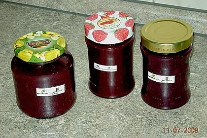 Aprikosenmarmelade mit roten Johannisbeeren 1