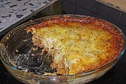 Gnocchiauflauf mit Sauerkraut