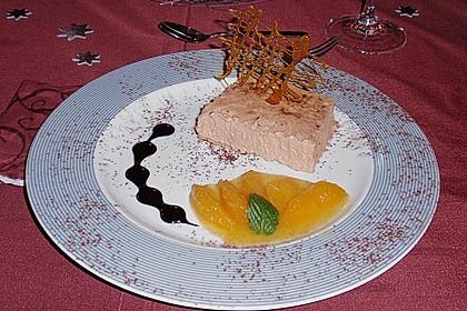 Lebkuchenparfait mit Gewürzorangen 15
