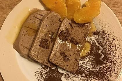 Lebkuchenparfait mit Gewürzorangen 1