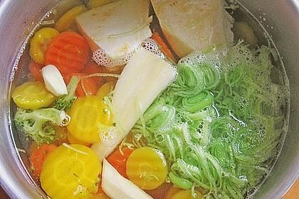 Pürierte Gemüsecremesuppe 3