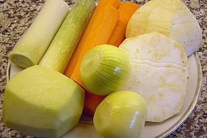 Pürierte Gemüsecremesuppe 5