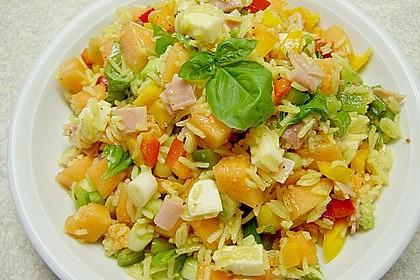 Italienischer Reis - Melonen - Salat 6