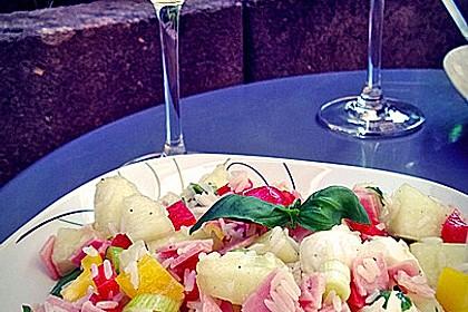 Italienischer Reis - Melonen - Salat 9