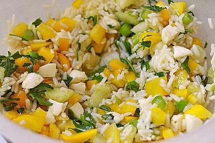 Italienischer Reis - Melonen - Salat 10