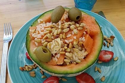 Italienischer Reis - Melonen - Salat 1