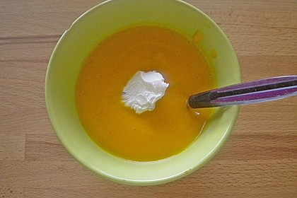 Feine Karottensuppe 9
