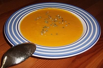 Feine Karottensuppe 2
