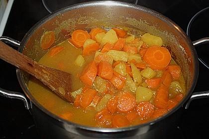Feine Karottensuppe 13