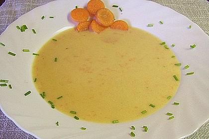 Feine Karottensuppe 7