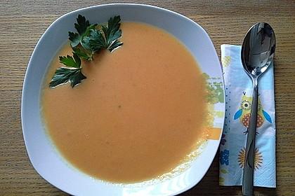 Feine Karottensuppe 8