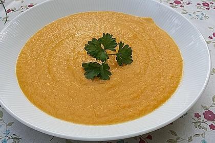 Feine Karottensuppe 4