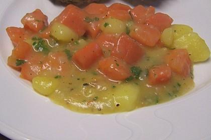 Karotten - Kartoffel - Pfanne 3