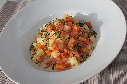 Karotten - Kartoffel - Pfanne 6