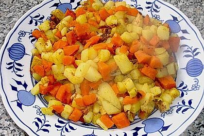 Karotten - Kartoffel - Pfanne 5