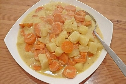 Karotten - Kartoffel - Pfanne 14