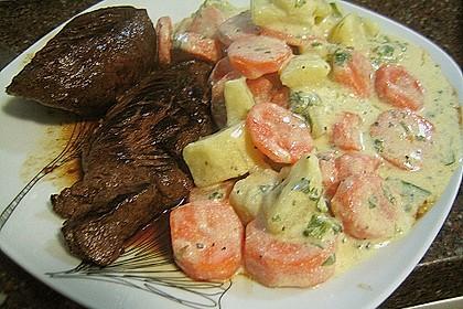 Karotten - Kartoffel - Pfanne 15