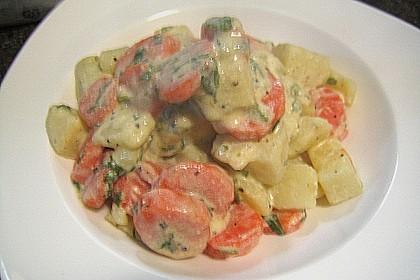 Karotten - Kartoffel - Pfanne 18