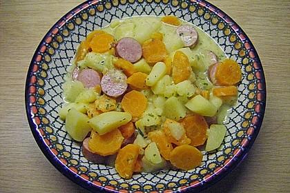 Karotten - Kartoffel - Pfanne 8