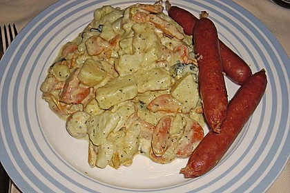 Karotten - Kartoffel - Pfanne 9
