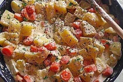 Karotten - Kartoffel - Pfanne 11