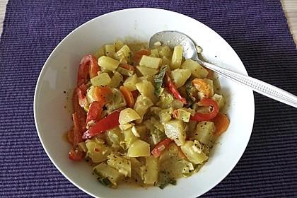 Karotten - Kartoffel - Pfanne 1