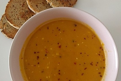 Kürbis-Möhren-Suppe 6