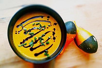 Kürbis - Möhren - Suppe