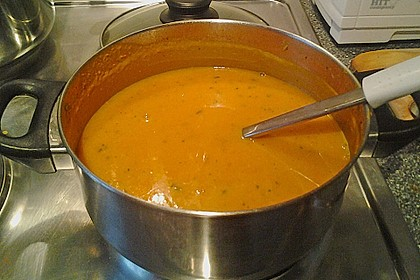 Kürbis - Möhren - Suppe 17