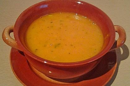 Kürbis - Möhren - Suppe 12