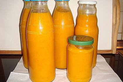 Kürbis - Möhren - Suppe 7