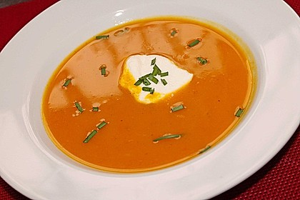 Kürbis - Möhren - Suppe 15