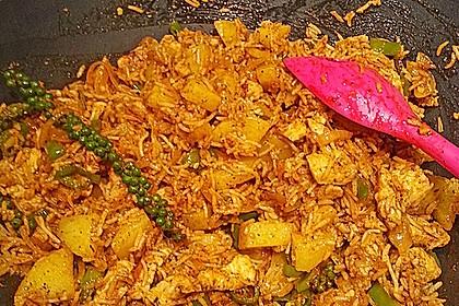 Chicken Biriyani mit Buttermilch Tomaten Rajita 0