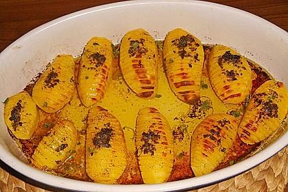 Fächerkartoffeln für Leute mit wenig Zeit 12