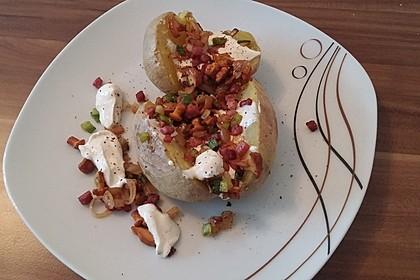 Ofenkartoffeln mit Pfifferlingen 14