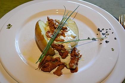 Ofenkartoffeln mit Pfifferlingen 8