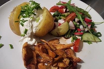 Ofenkartoffeln mit Pfifferlingen 9