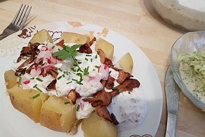 Ofenkartoffeln mit Pfifferlingen 20